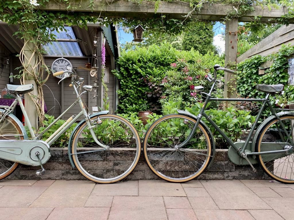 Fongers rijwielen uit de jaren '50