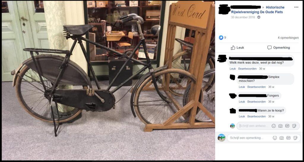 Fongers X-frame op Facebook - Reacties