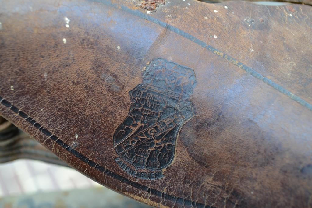 Fongers zadel op een Fongers HH 60 uit 1923