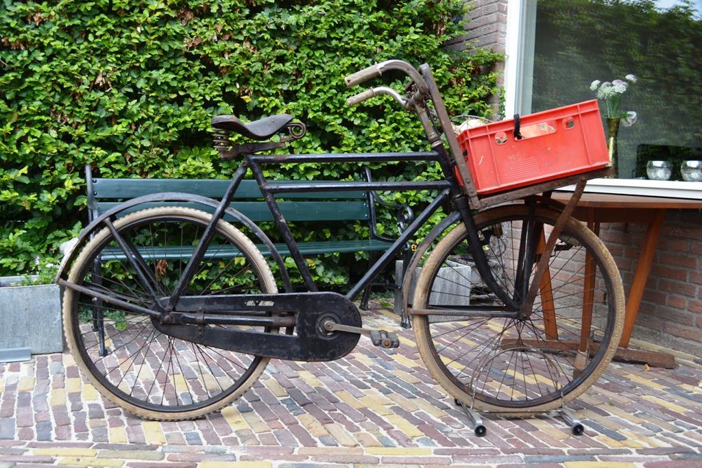 Fongers Transportfiets 1964 Rens Roos Groote Keeten