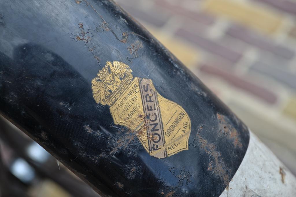 Fongers Transportfiets 1964 Rens Roos Groote Keeten Transfer achterspatbord