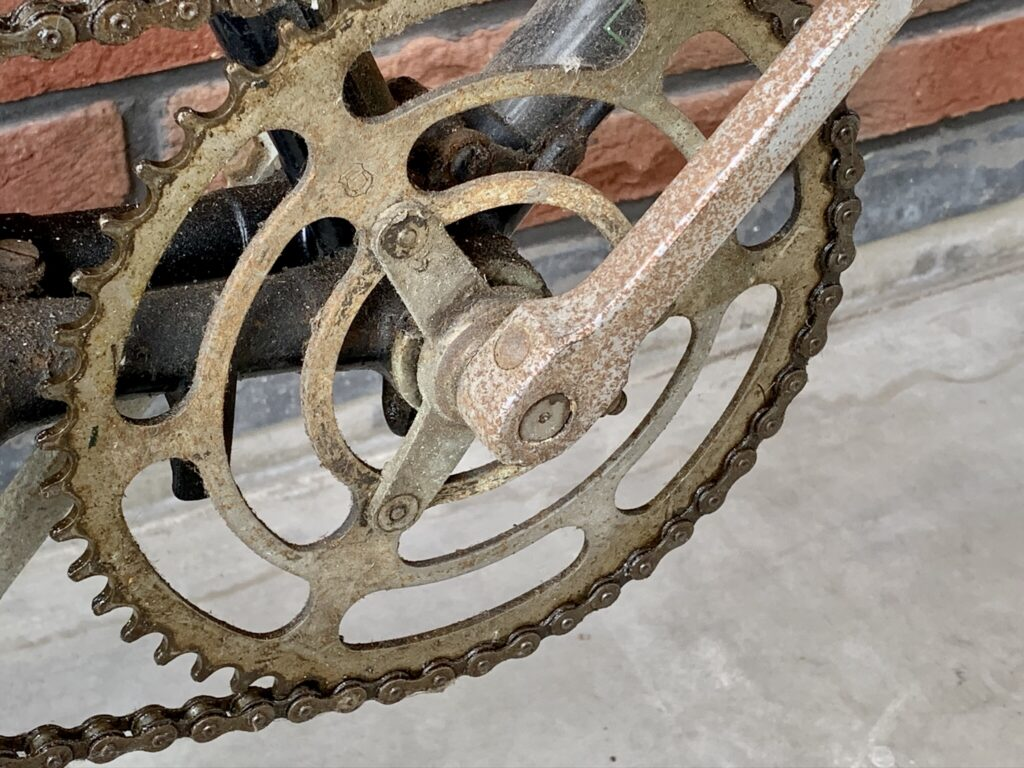 Kettingwiel van een Fongers BB 60 uit 1917