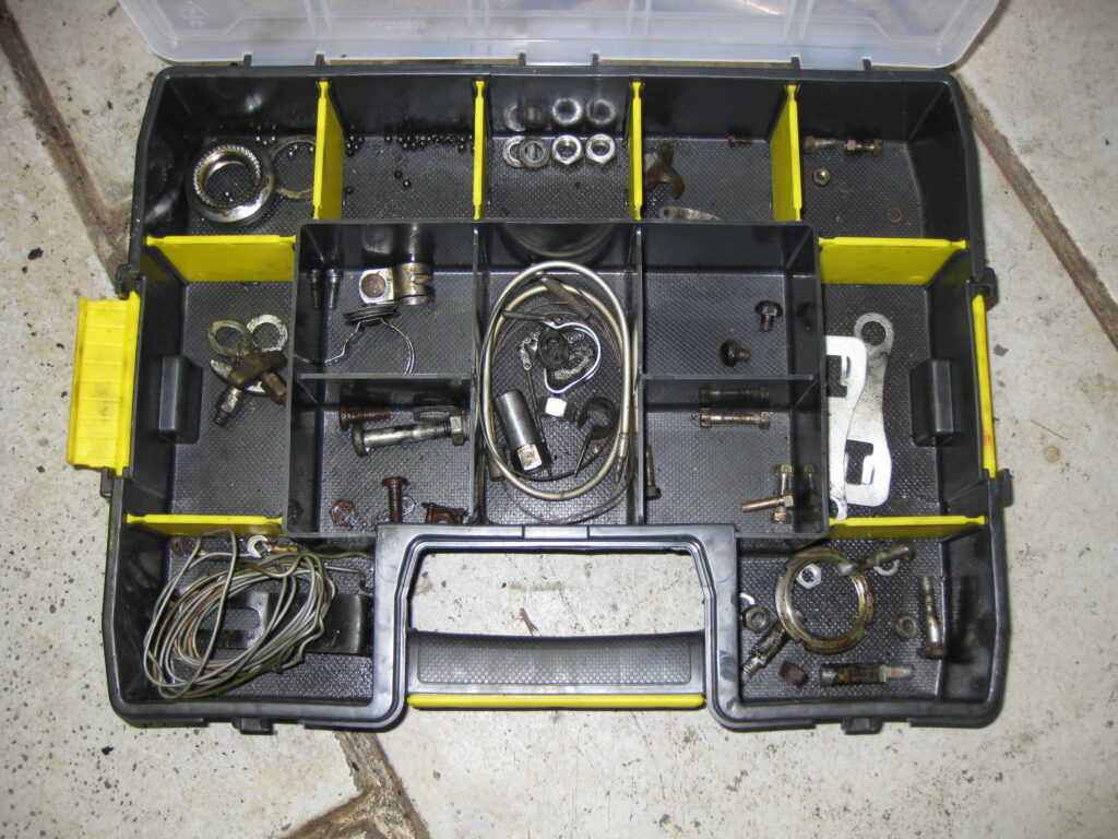 Fongers Sport Special 1959 onderdelen