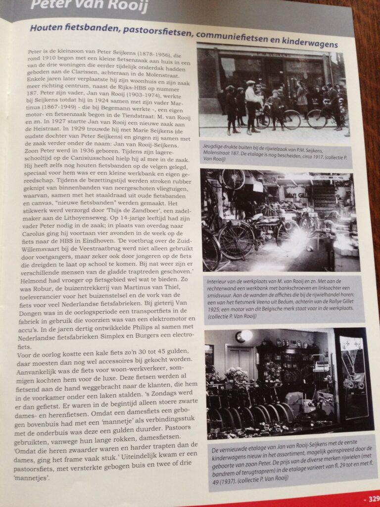 Peter van Rooij - Houten fietsbanden, pastoorsfietsen, communiefietsen en kinderwagens