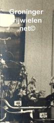 Rijwielzaak Jan van Rooij - Seijkens in 1938 met een rij Fongers rijwielen