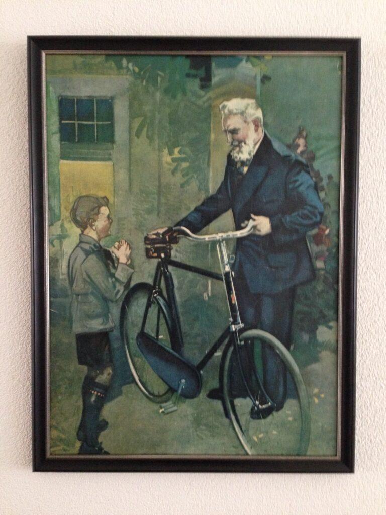 Fongers affiche Van vader op zoon uit 1925
