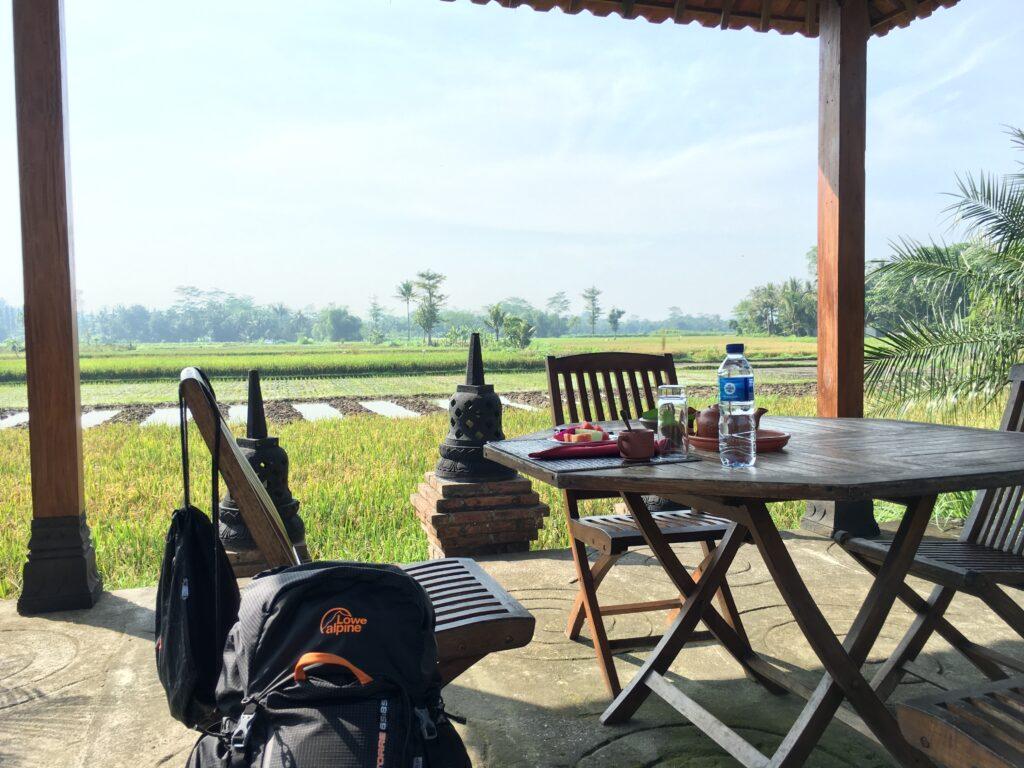 Op bezoek bij Rumah Dharma Villas, Borobudur Indonesia