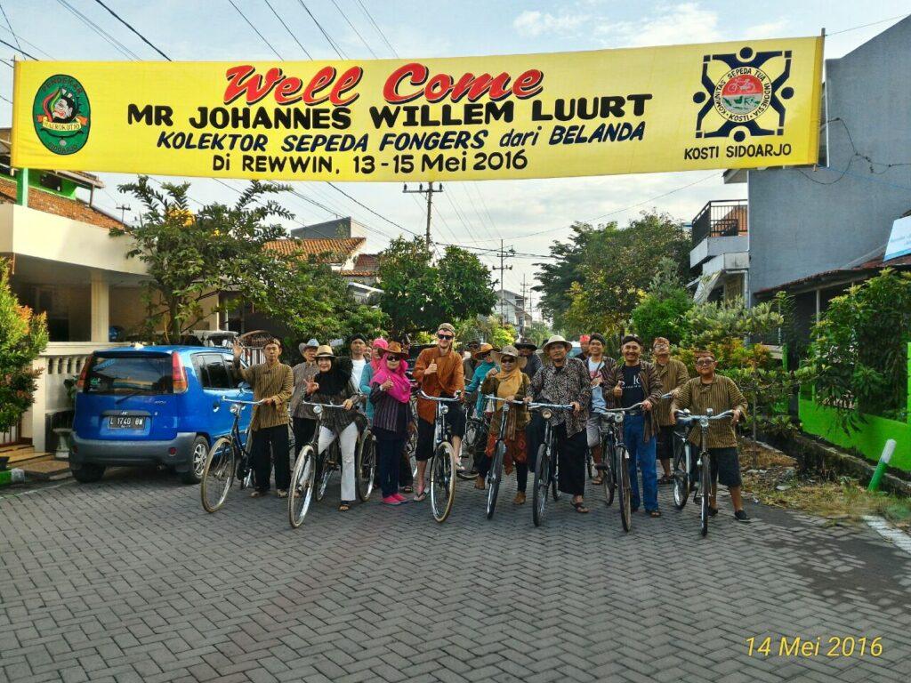 Warm welkom bij Mr. Bambang in Sidoarjo