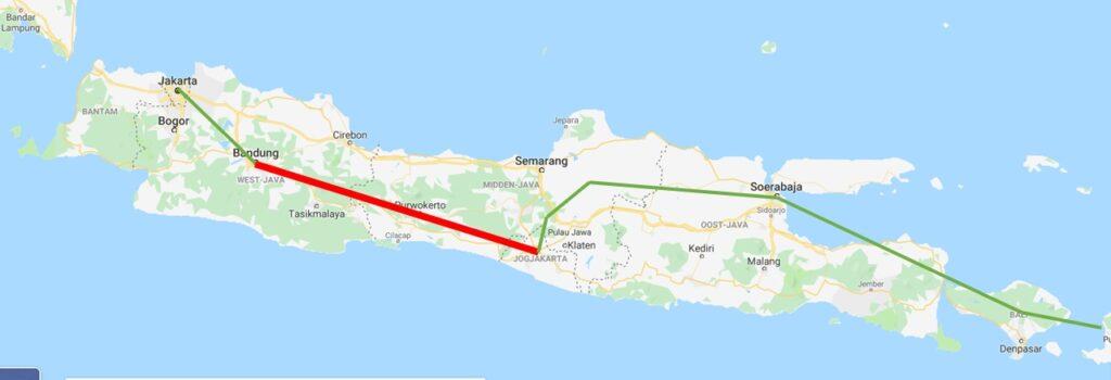 Reis door Indonesië - Bandung - Yogyakarta
