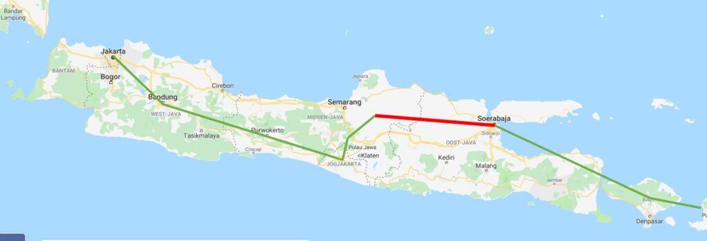 Reis door Indonesië - Juwangi - Soerabaya