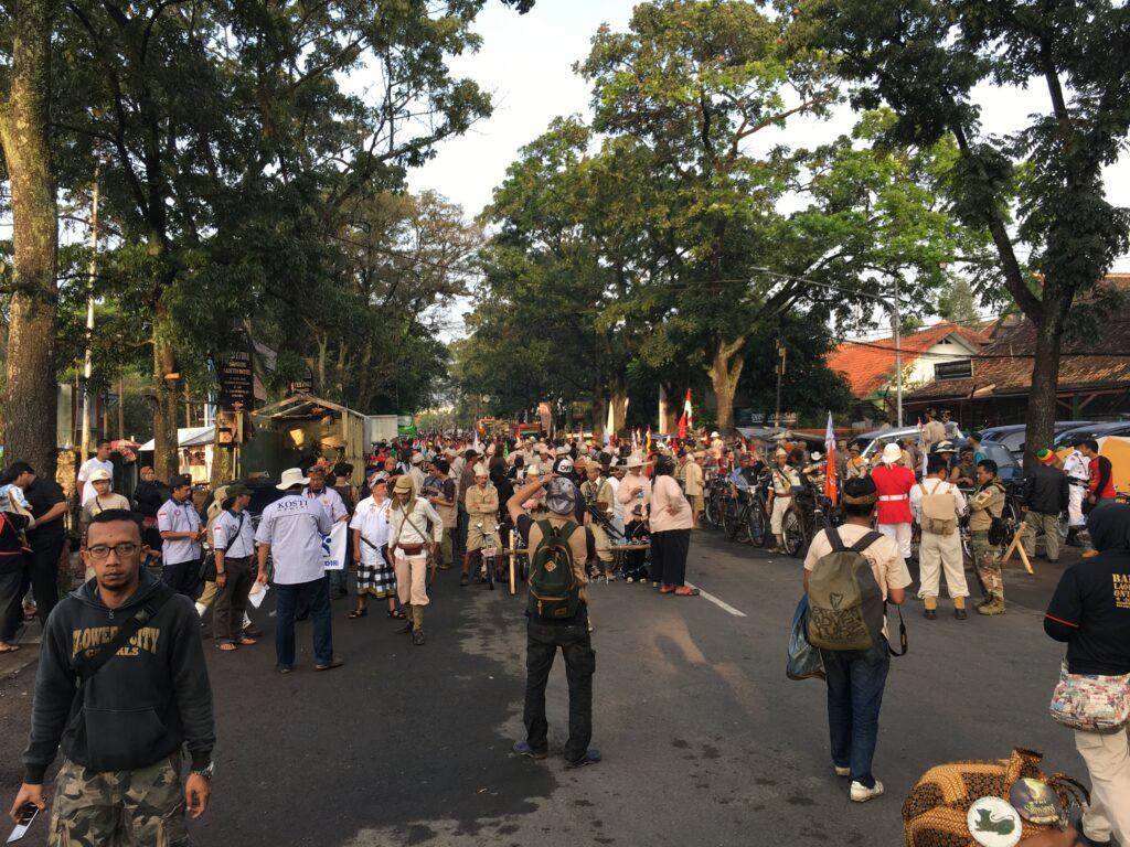 Tocht dwars door Bandung
