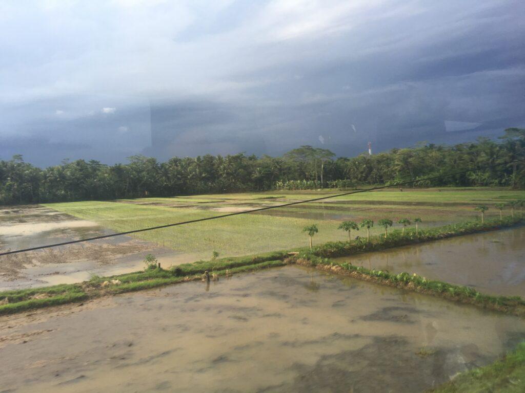 Treinreis naar Yogyakarta